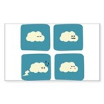 Thunder Fart Rectangle Sticker