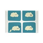Thunder Fart Rectangle Magnet (100 pack)