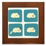 Thunder Fart Framed Tile