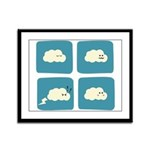 Thunder Fart Framed Panel Print