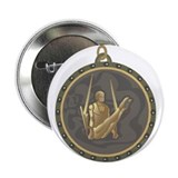 "Men's Gymnastics Rings Emblem 2.25"" Button"