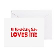 An Advertising Guru Loves Me Greeting Card