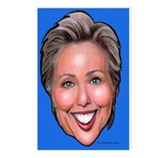 Political caricatures Postcards (Package of 8)