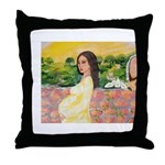 Spanish mama Throw Pillow