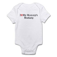 I Love My Mommy's Mustang Infant Bodysuit