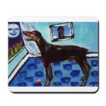 DOBERMAN PINSCHER art Mousepad