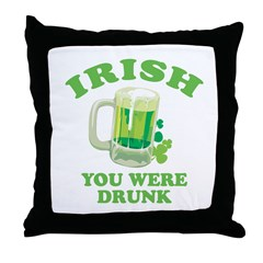 St. Patrick's day Throw Pillow