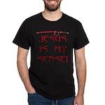 Jesus Katana Dark T-Shirt