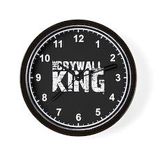 The Drywall King SQ Wall Clock