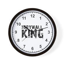 The Drywall King SQ Clock