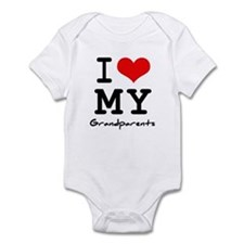 I love my grandparents Infant Bodysuit