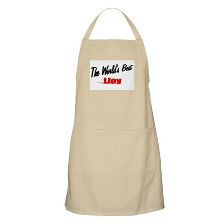 """The World's Best Lloy"" BBQ Apron"