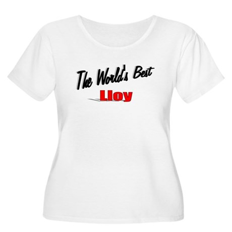 """The World's Best Lloy"" Women's Plus Size Scoop Ne"