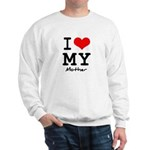 I love my mother Sweatshirt