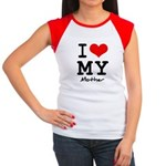 I love my mother Women's Cap Sleeve T-Shirt