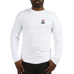I love emo rock Long Sleeve T-Shirt