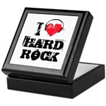 I love hard rock Keepsake Box