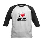I love jazz Kids Baseball Jersey