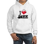 I love jazz Hooded Sweatshirt