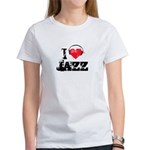 I love jazz Women's T-Shirt