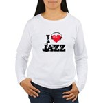 I love jazz Women's Long Sleeve T-Shirt