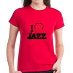 I love jazz Women's Dark T-Shirt