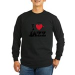 I love jazz Long Sleeve Dark T-Shirt