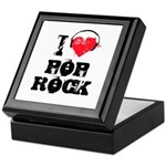 I love pop rock Keepsake Box