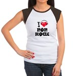 I love pop rock Women's Cap Sleeve T-Shirt