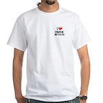 I love porn music White T-Shirt