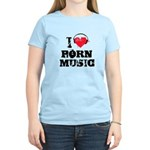 I love porn music Women's Light T-Shirt