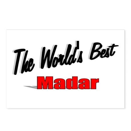 """The World's Best Madar"" Postcards (Package of 8)"