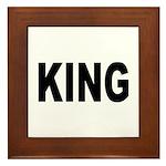 King Framed Tile