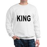 King (Front) Sweatshirt