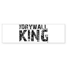 The Drywall King SQ Bumper Bumper Sticker