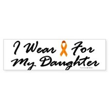 I Wear Orange For My Daughter 1 Bumper Bumper Sticker