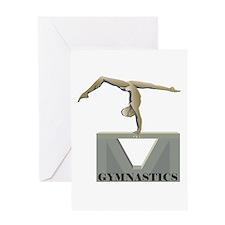 Women's Gymnastics Greeting Card
