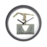 Women's Gymnastics Wall Clock