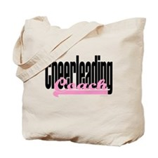 Cheerleading Coach (Pink) Tote Bag