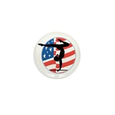 U.S.A Gymnastics Mini Button (10 pack)