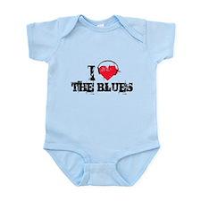 I love the blues Infant Bodysuit