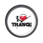 I love trance Wall Clock