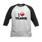 I love trance Kids Baseball Jersey