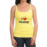 I love trance Jr. Spaghetti Tank