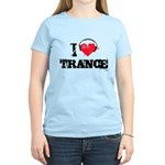 I love trance Women's Light T-Shirt