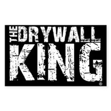 The Drywall King SQ Rectangle Decal