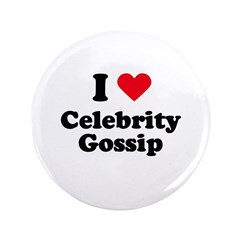 "I love celebrity gossip 3.5"" Button (100 pack)"