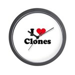 I love clones Wall Clock