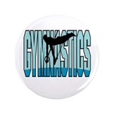 "Gymnastics Logo 3.5"" Button (100 pack)"