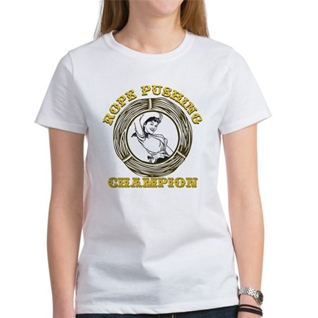 Rope Pushing Champion Women's T-Shirt